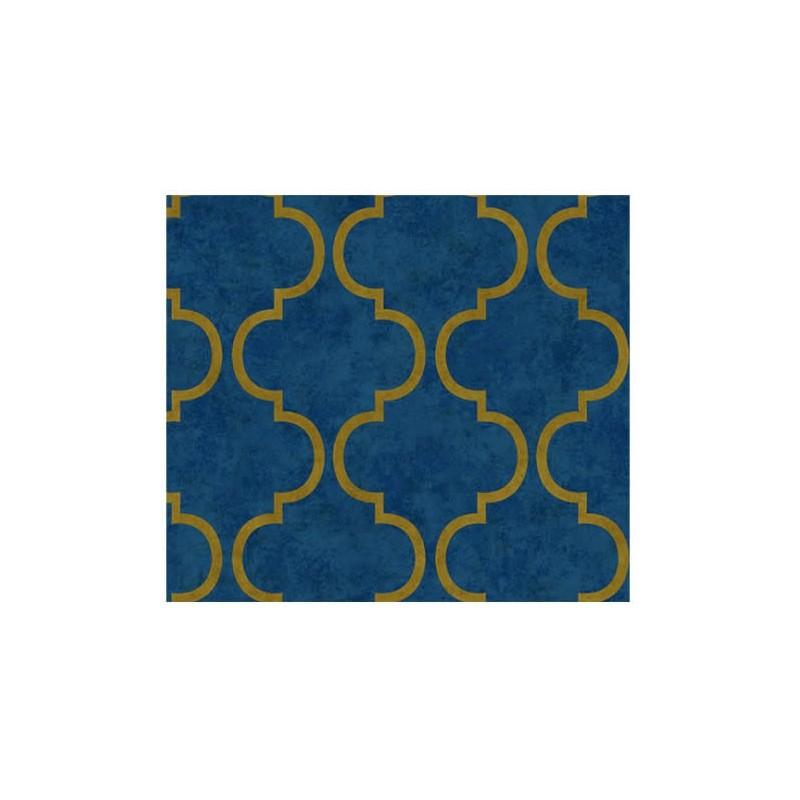Papel Pintado Moderno Indigo de Lurson Ref. 160004-4703-6
