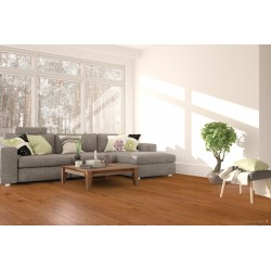 Amorim Wise Tarima Ecológica Wood Inspire - Mod.- Chocolate Brown Oak instalación