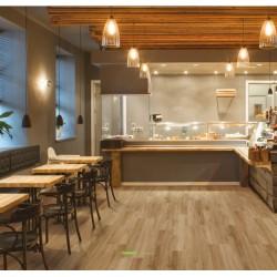 Amorim Wise Tarima Ecológica Wood Inspire - Mod.- Mocca Oak instalación
