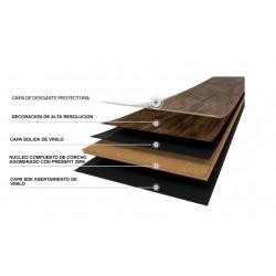 Wicanders Wood Hydrocork Tarima Resistente al Agua estructura