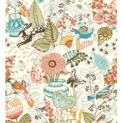 Papel Pintado NORA BLOOM de Lurson Ref. 4848-NOR3129