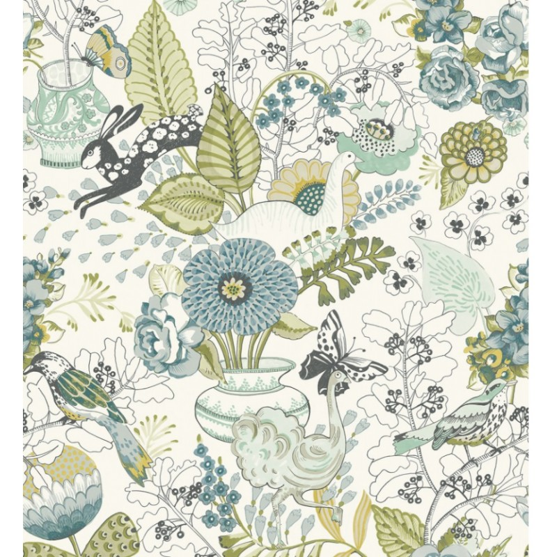 Papel Pintado NORA BLOOM de Lurson Ref. 4848-NOR3132