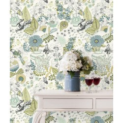 Papel Pintado NORA BLOOM de Lurson Ref. 4848-NOR3132 detalle