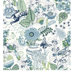 Papel Pintado NORA BLOOM de Lurson Ref. 4848-NOR3136